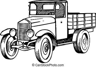 古い, 貨物自動車