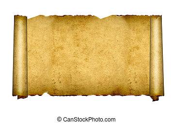 古い, parchments