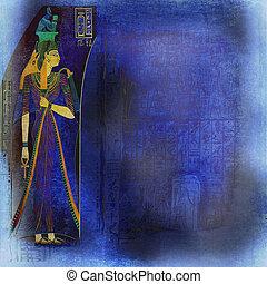 古代芸術, 背景, エジプト人