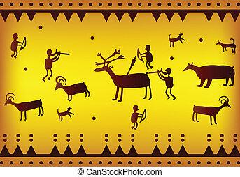 古代, アメリカ, 背景