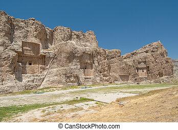 古代, イラン, rustam, naqsh-e, 同価, necropolis, 州