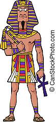 古代, ファラオ, エジプト人