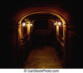 古代, 地下室