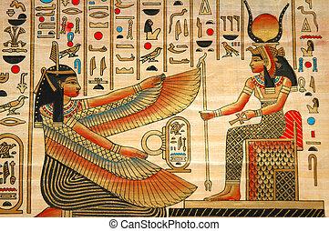 古代, 要素, 歴史, パピルス, エジプト人