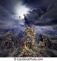 台なし, 寺院