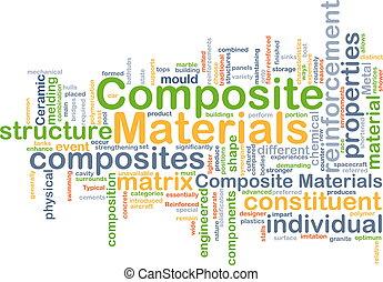 合成, 概念, 背景, 材料