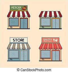 商業, デザイン
