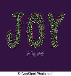 喜び, 活版印刷, 世界