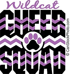 喝采, 分隊, wildcat