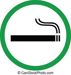 喫煙, 区域