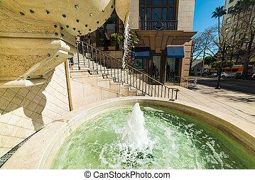 噴水, アンジェルという名前の人たち, los, beverly, 郡, 丘