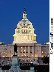 国会議事堂, 私達, 夜