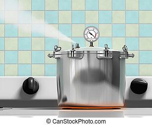 圧力 炊事道具