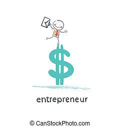 地位, 企業家, ドル