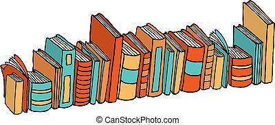 地位, 別, /, 本, 図書館, 山