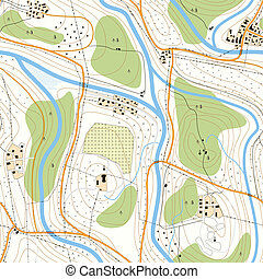 地形である, map., seamless