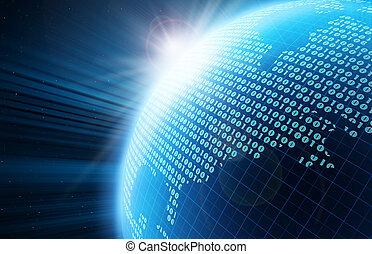 地球, デジタル