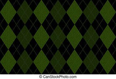 型, セーター, パターン