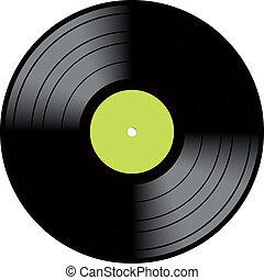 型, ディスク, ビニール, lp, レコード