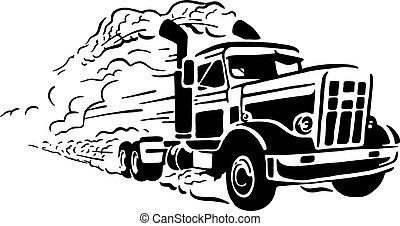 型, トラック