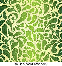 型, 壁紙, 緑