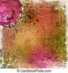 型, 壁紙, 背景, バラ