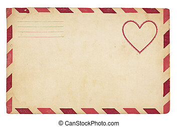 型, 封筒, バレンタイン