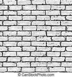 壁, れんが, pattern., seamless