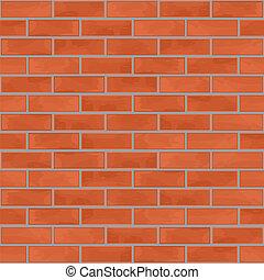 壁, れんが, seamless, 背景