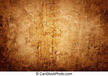 壁, ブラウン, 手ざわり