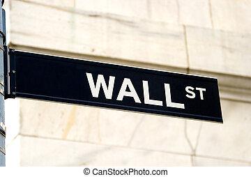 壁, 印, 通り, ニューヨークシティ