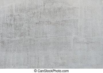 壁, 灰色, 手ざわり, 化粧しっくい, 背景
