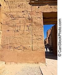 壁, 部分, 象形文字