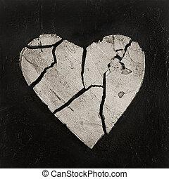 壊された心, アートワーク