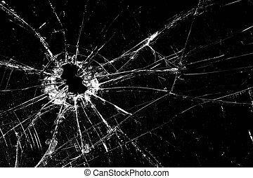 壊れたガラス