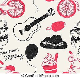 夏季休暇, 背景