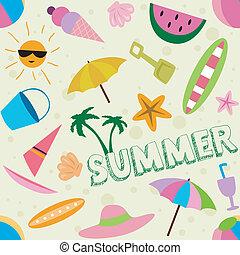 夏, デザイン