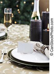 夕食, クリスマス, 形式的