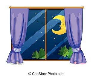 夜, 光景