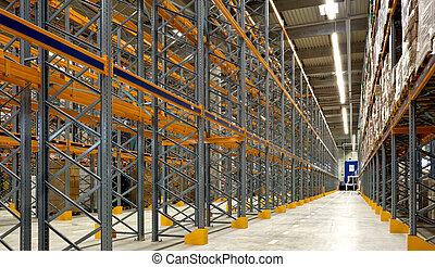 大きい, 倉庫, 産業