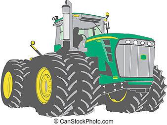 大きい, 農場のトラクター