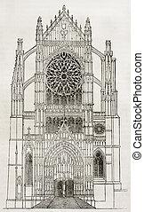 大聖堂, beauvais