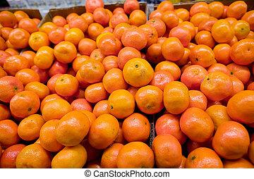 大部分, オレンジ
