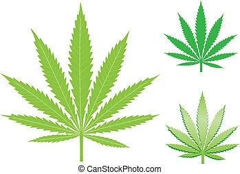 大麻リーフ