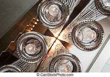 天井, 現代, 照明