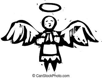 天使, 木版