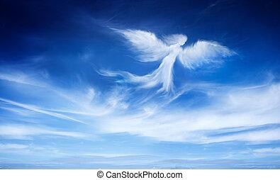 天使, 空