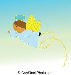 天使, 飛行