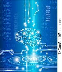 天才, 脳, デジタル