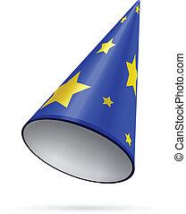 天文学者, 帽子, 星